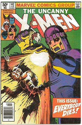 The Uncanny X-Men No 142 February 1981
