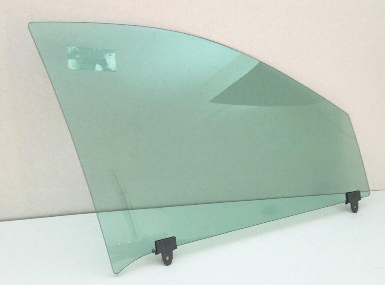 NAGD Passenger//Right Side Front Door Window Glass Replacement for Pontiac Grand Am 4 Door Sedan 1999-2005