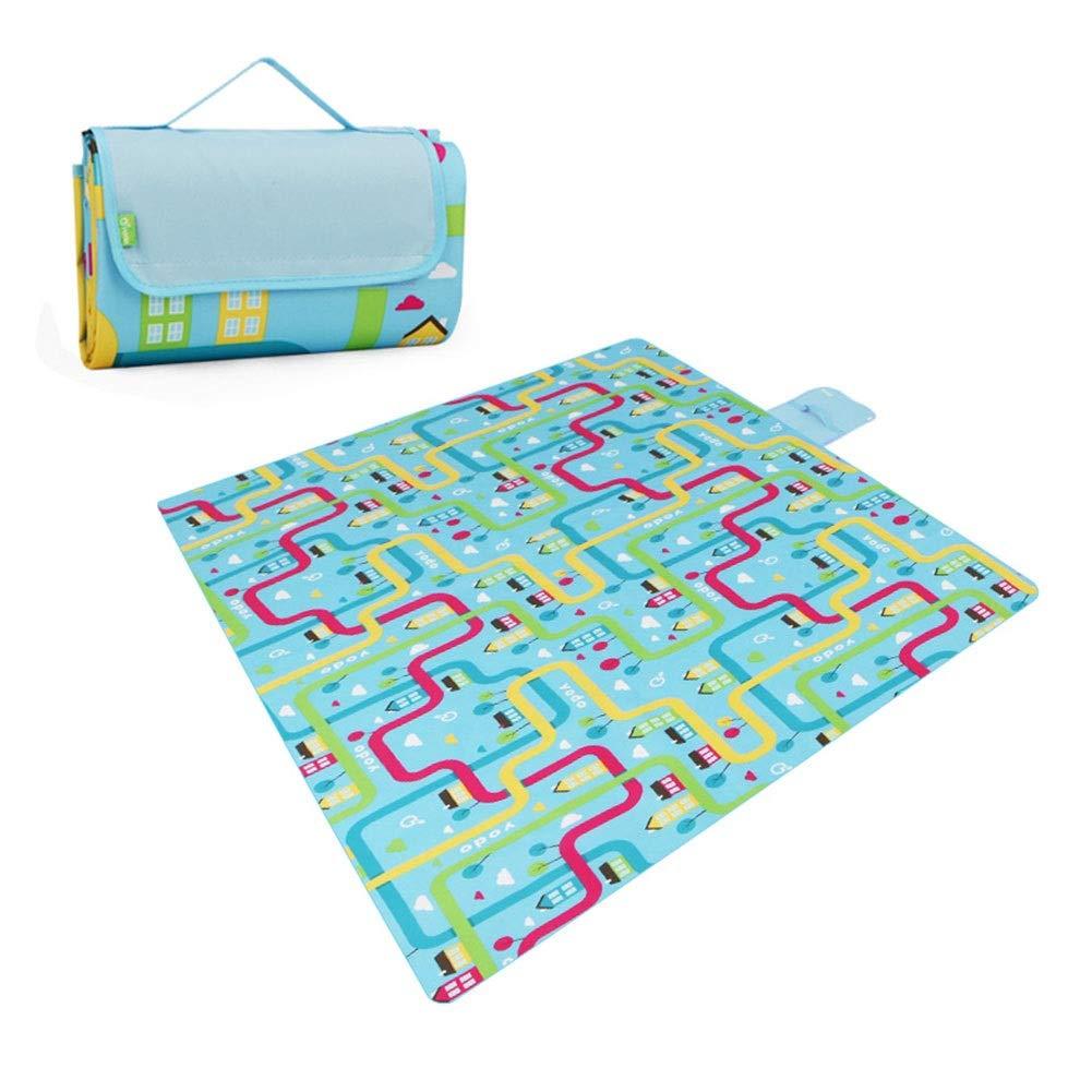 Picnic Blanket Waterproof Mat Pet Pad Outdoor Waterproof Sleeping Mat,Beach Camping Barbecue (Color : #2) by FZZ-Picnic Blanket