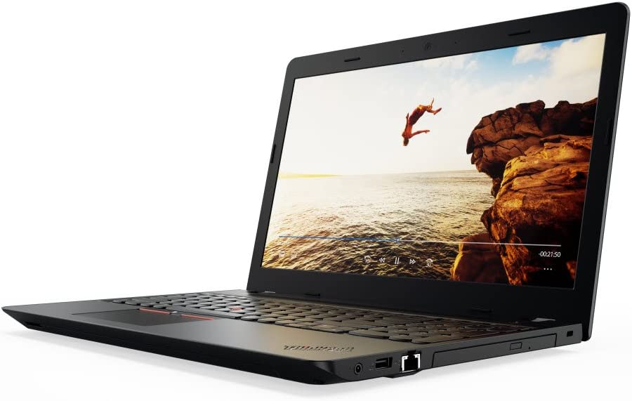 Lenovo ThinkPad E570 15.6 inch High Performance Business laptop, 256GB SSD, Intel Core i5 (7th Gen) 2.50 GHz, 8 GB DDR4, DVD RW, WiFi, HDMI/VGA, Gigabit LAN, fingerprint reader, Windows 10 Pro 64-bit