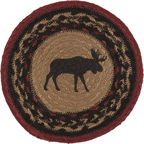 VHC Brands Rustic & Lodge Tabletop & Kitchen - Cumberland Tan Jute Trivet, Brown