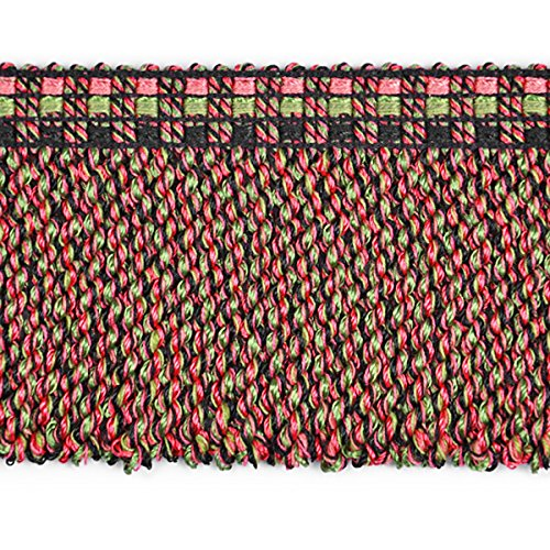 Expo CN021417VNT4018 18 Yards of Conso 3  Bullion Fringe Trim Fuchsia Multi