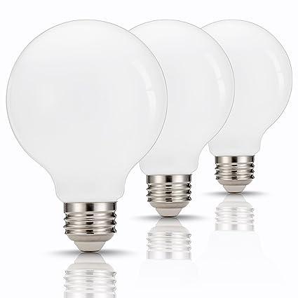 Tgmold G25 Globe Led Bulb 60w Equivalent 9w Base E26 E27 Daylight