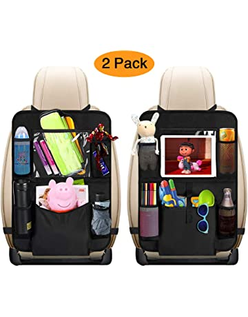 bdb9592d963 Car Back Seat Organizer Kids- Large Big Storage Pockets Car Organizer Seat  Back Protectors with