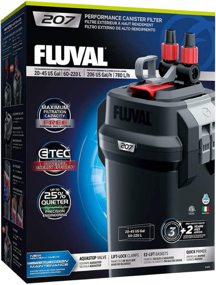 fluval 207 review