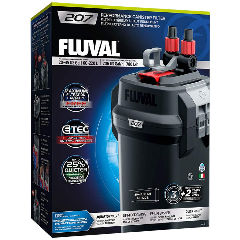 Fluval 207 Perfomance Canister Filter by Fluval
