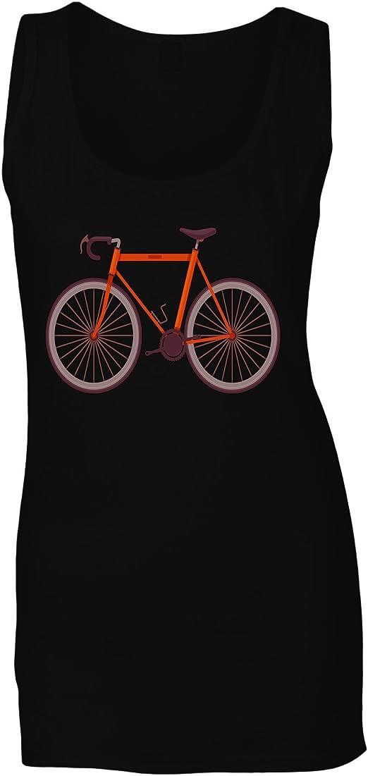 Arte Retro Bicicleta Vintage Camiseta sin Mangas Mujer q305ft ...