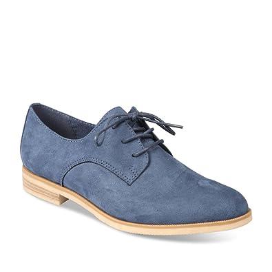 423fdf86745e Chaussures Derbies Et Merry Scott Chaussea Femme Bleu Sacs nCXnzp8Oq
