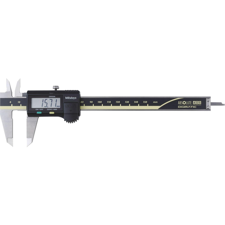 Mitutoyo 500-181-30 Pied à coulisse digital sans sortie de données DIN 862 Jauge de profondeur plate 0-150mm 101166052