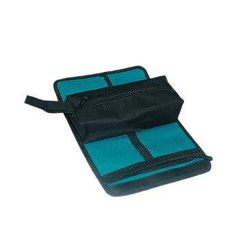 2-in1 Multifunktions Elektriker Werkzeugrolltasche Werkzeugtasche-Grün