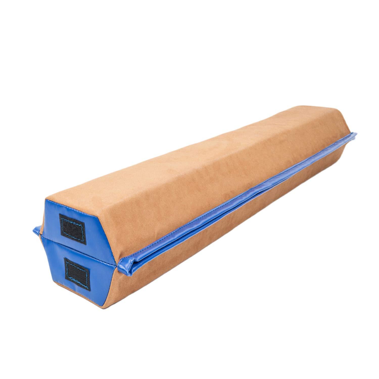 SHUTAO 8フィート ヤング体操 チアリーダー トレーニング 折り畳み バランス ビーム ブラウン&ブルー B07GFFRQ82