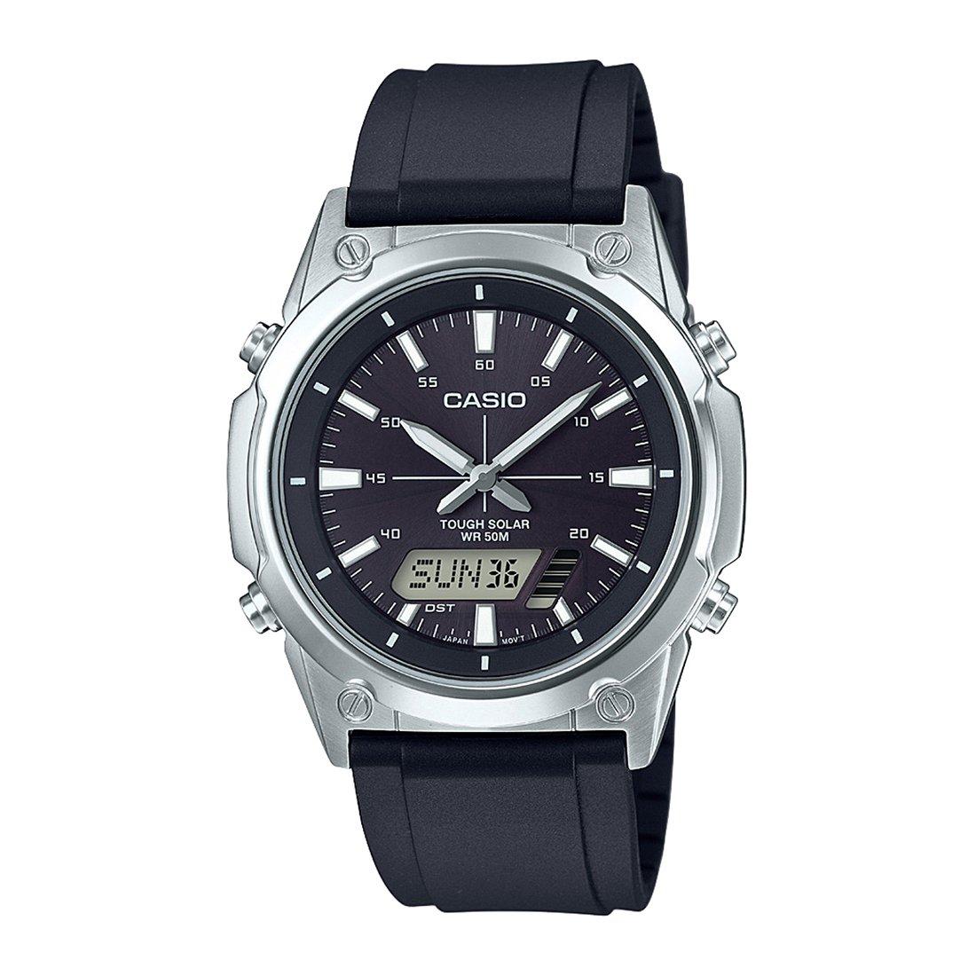 Buy Casio Enticer Analog Digital Black Dial Mens Watch Amw S820 Ltp 1378l 2e Women Quartz Blue 1avdf A1295 Online At Low Prices In India