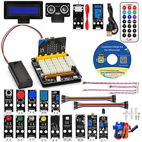 Kit con Micro:bit incluido mas 20 modulos sensores
