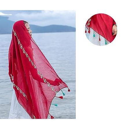 Qi Fang Busines Accessories Scarf Female Summer Sunburn Shawl New