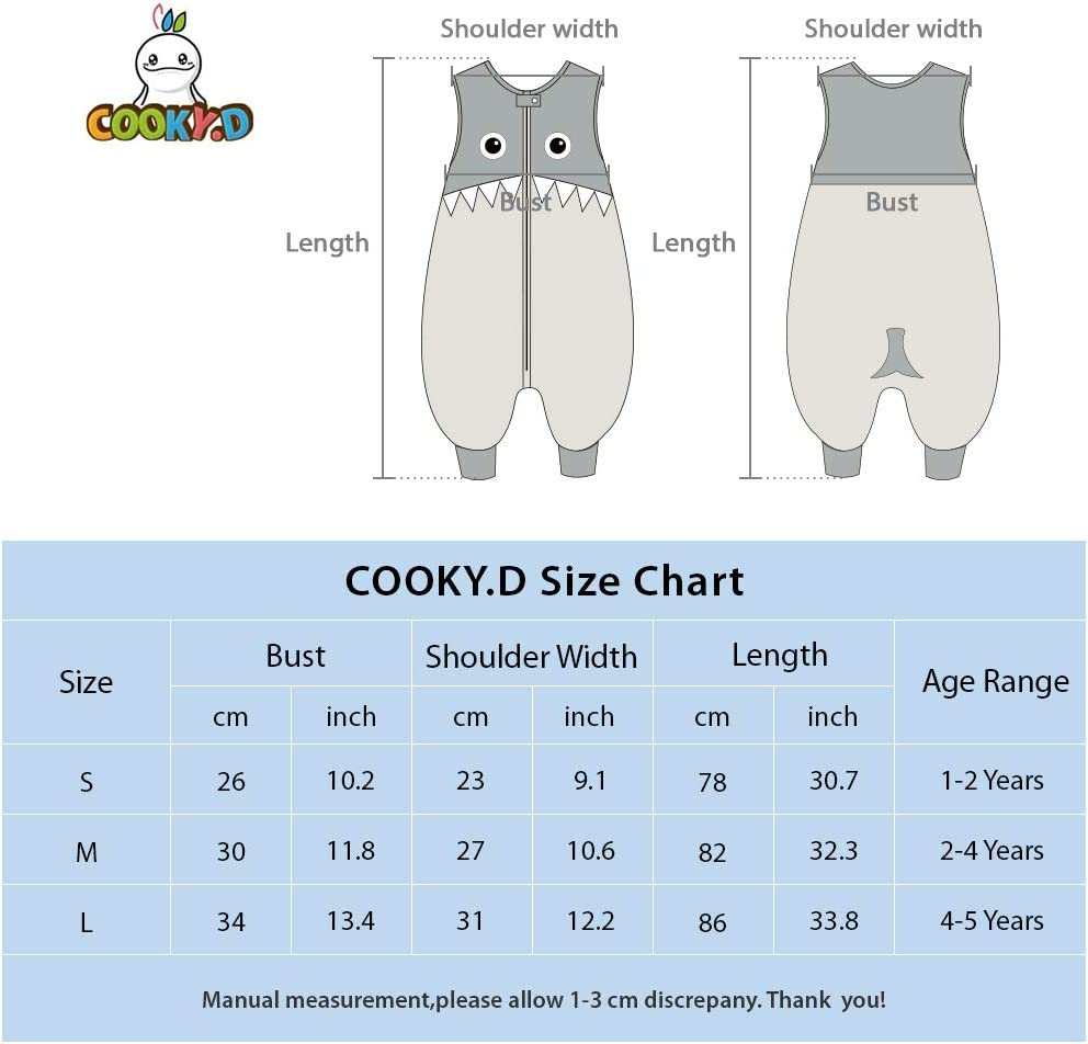 1-3 Ans COOKY.D Gigoteuses B/éb/é Fille Gar/çon avec des Pieds Hiver Automne Pyjama Rose