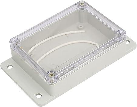 Aexit 150mmx85mmx35mm ABS Caja de conexiones a prueba de polvo de ...