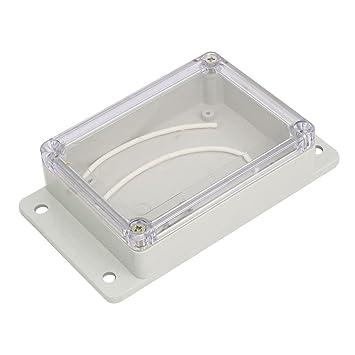 Aexit 150mmx85mmx35mm ABS Caja de conexiones a prueba de ...