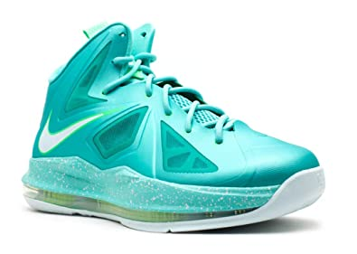 check out fd5a9 724dc Nike Lebron X (GS)  quot Easter quot  Girls Basketball Shoes 543564-303