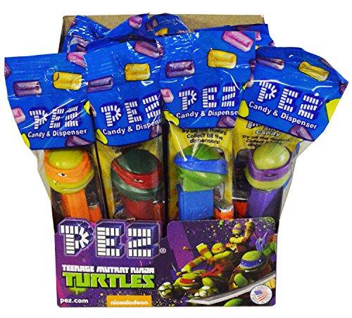 ninja turtle pez candy dispensers - 1