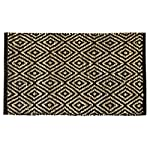 Fernish Decor Door Mat (Black, Jute, 55 X 75 cm)