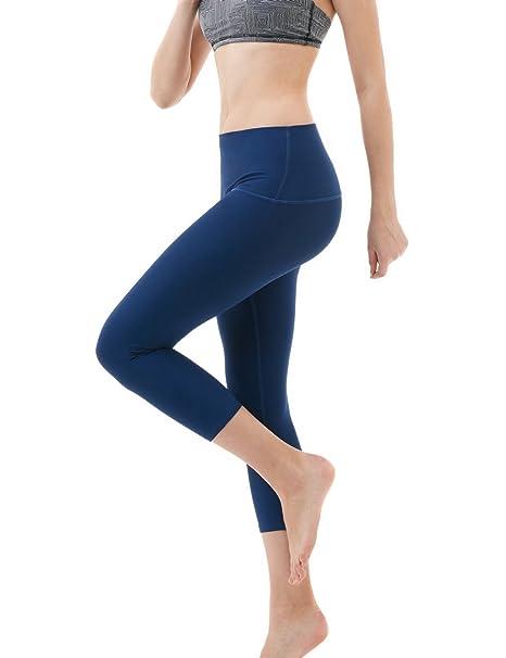 9c3dc34ddf177d Tesla FYC32NVY_X-Small Yoga Pants High-Waist Tummy Control w Hidden Pocket  FYC32