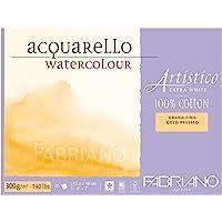 Fabriano Artistico Extra White, İnce Dokulu Sulu B