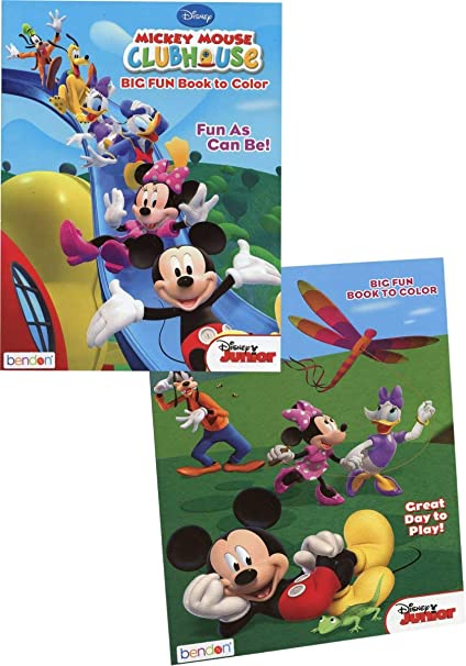 - Amazon.com: Bendon 2327749 DDI Mickey Mouse Clubhouse Coloring Book - Case  Of 36: Toys & Games