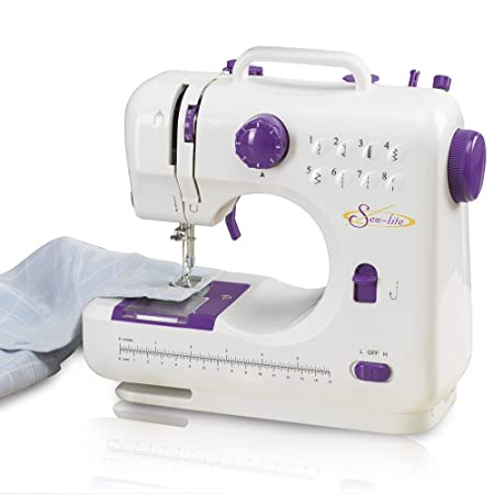 Portable Sewing Machine With 40 Coloured Thread Spools 40 Coloured Extraordinary Sew Lite Sewing Machine Review