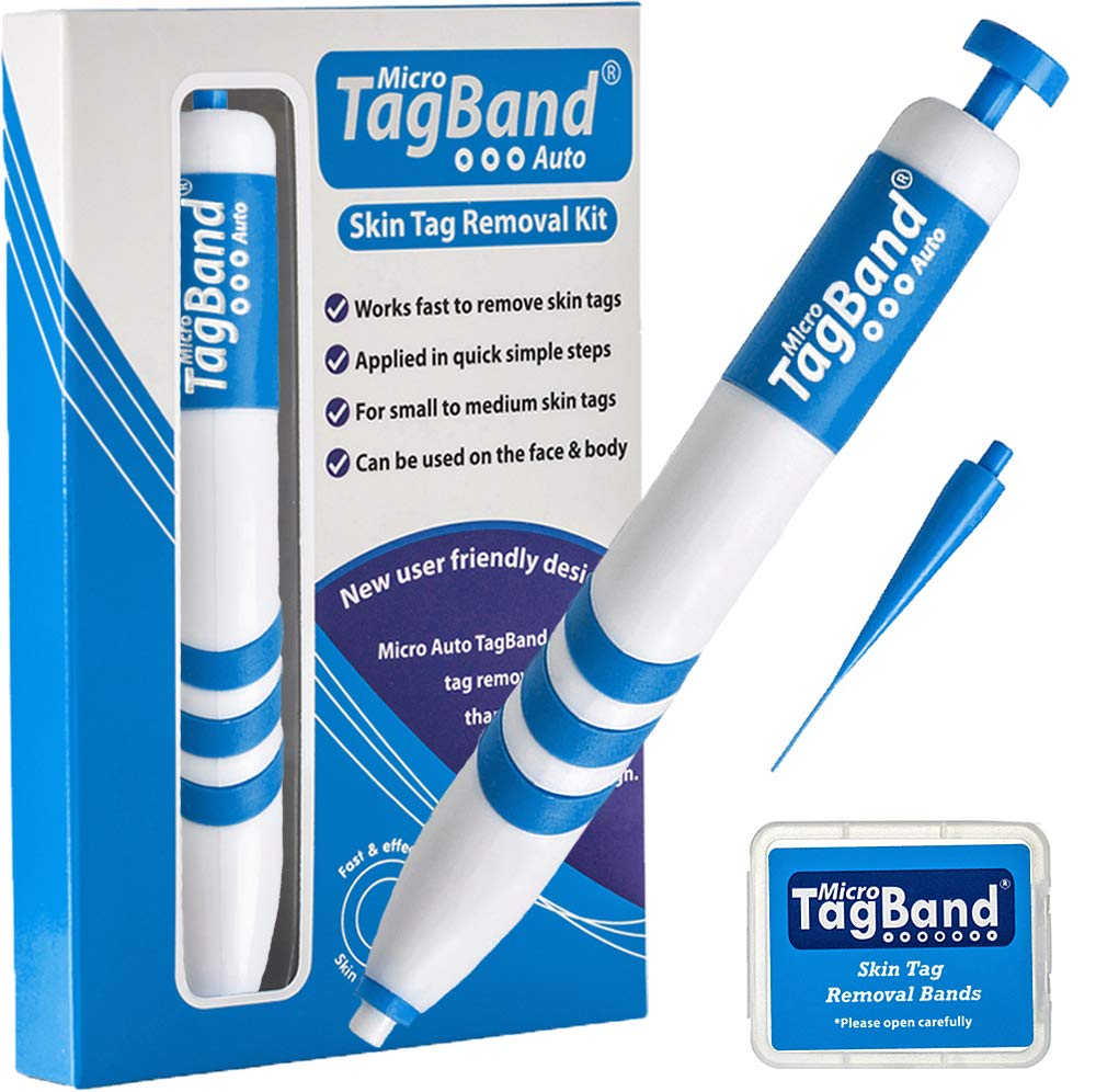Micro Auto TagBand Skin Tag Remover Device for Small to Medium Skin Tags by TagBand