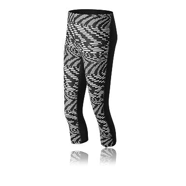 ea405b322846d New Balance Impact Capri Print Women's Tight - X Large: Amazon.co.uk ...