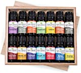 essential oil starter kit doterra - 14 Essential Oil Set (7 Synergies and 7 Singles) Includes 100% Pure, Therapeutic Grade of: Sensual , Energy, Germ Fighter, Relax, Immune-Aid, Tranquil, Invigor-Aid, Lavender, Peppermint, Eucalyptus, Tea Tree, Orange, Lemon & Cinnamon. 10 ml each.