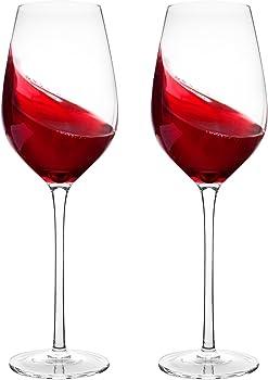 2 Pack Bella Vino Red Wine Glasses
