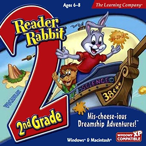 Reader Rabbit 2nd Grade Mis-cheese-ious Dreamship Adventures -