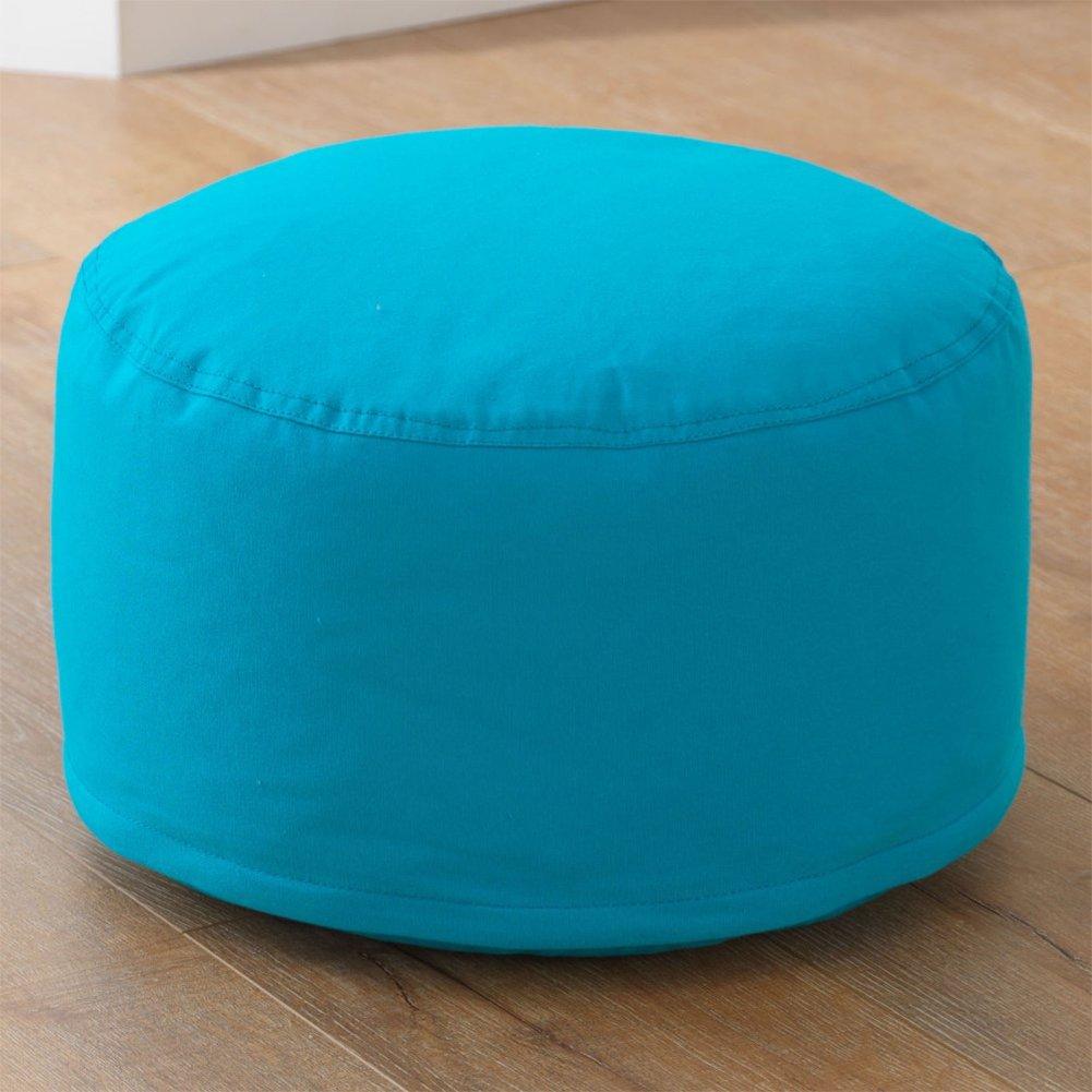KidKraft Round Pouf, Turquoise by KidKraft