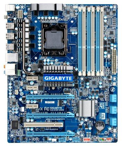 GIGABYTE GA-X58-USB3 LGA 1366 Intel X58 USB 3.0 ATX Intel Motherboard