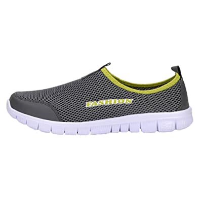 Les femmes respirante Slip-on chaussures imperméables kpTu2Ec