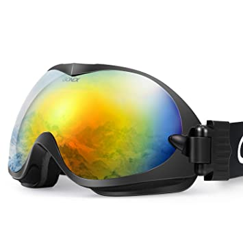 be nice ski goggles  Amazon.com : Gonex Professional Ski Goggles OTG Anti-fog Windproof ...
