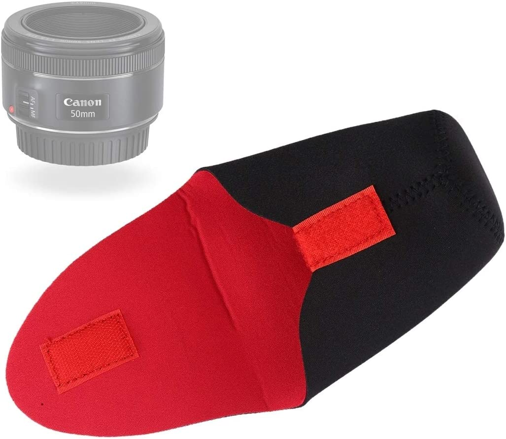 Diameter 65mm SLR Camera Lens Package Thickener Shockproof Neoprene Lens Storage Bag Embarrassing Deduction Yangjingya Camera Bag Height 100mm