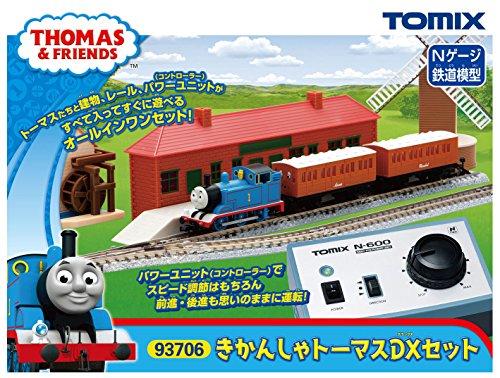 [해외] TOMIX N게이지 기관차 토마스DX세트 93706 철도 모형 입문 세트