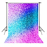 FUERMOR Background 5x7ft Colorful Photography Backdrop Makeup Photo Video Props (Not Glitter) DANFU192