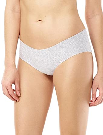 10e2449170 commando Heathered Cotton Bikini Panty - CBK55 (Gray Heather