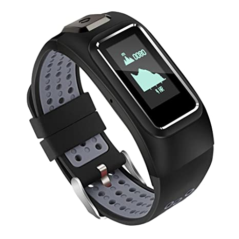 OOLIFENG Actividad Tracker, IP67 Impermeable Fitness Tracker Con ...