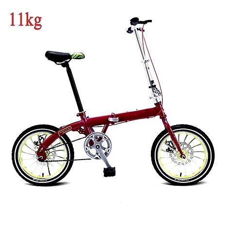 Bici Pieghevole Leggera.Grimk Bicicletta Da Citta Donna Uomo Alluminio Bici