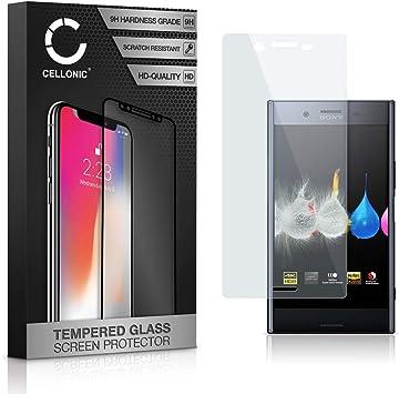 CELLONIC® Cristal Protector de la Pantalla Compatible con Sony ...