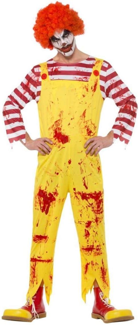 Horror-Shop Disfraz De Payaso Asesino Sangriento M: Amazon.es ...