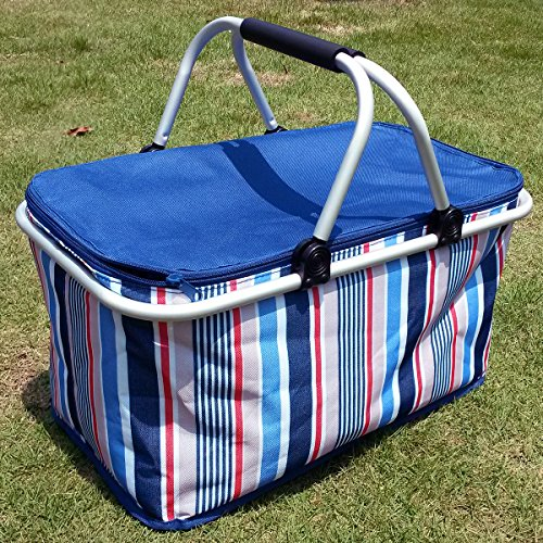 insulated picnic basket top 10 best picnic baskets insulated top reviews no 12080