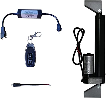 """Brackets 2pcs 12V 6/"""" Linear Actuator Power Supply Remote Control"""