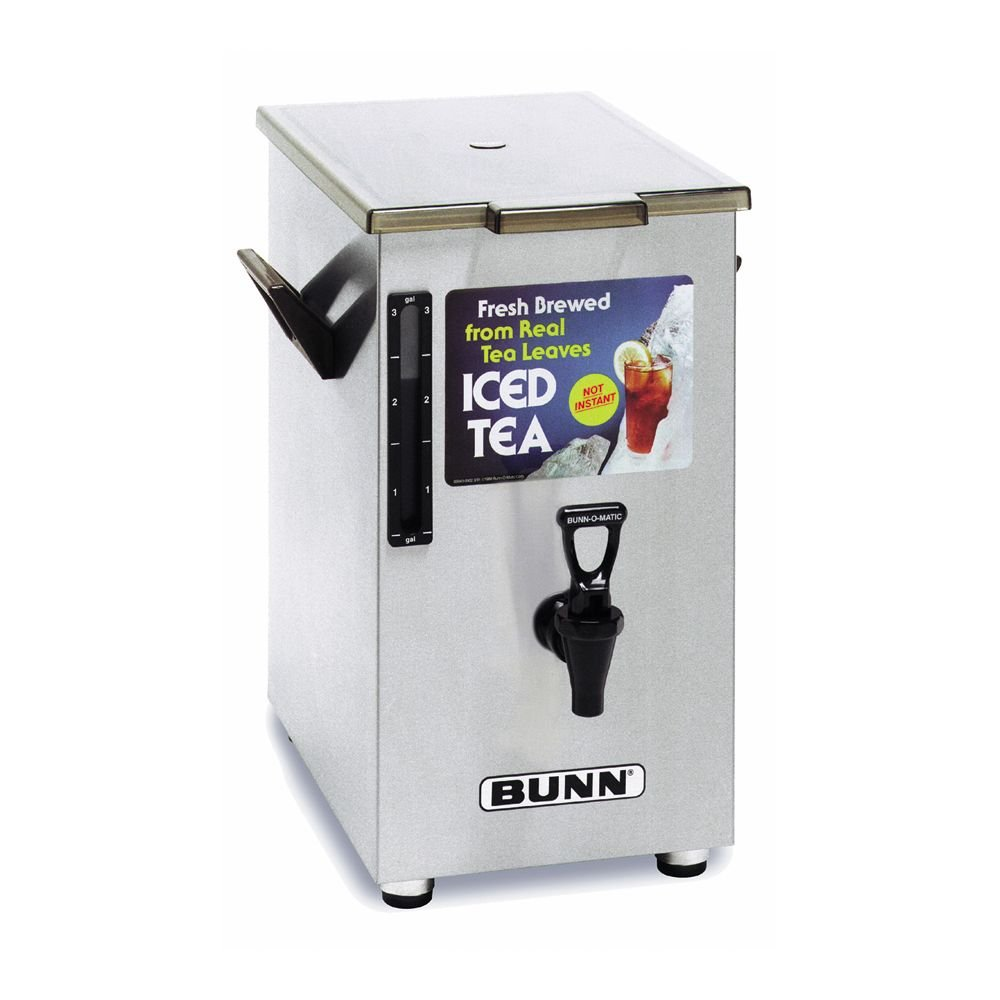 BUNN TD4 Iced Tea Dispenser with Solid Lid