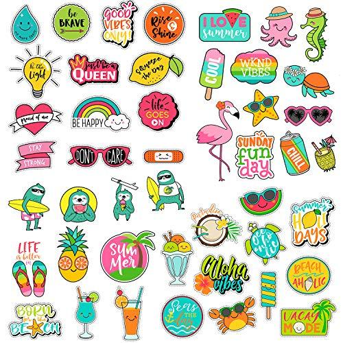 47 Pack Vsco Stickers For Teen Girls Creative Cute Aesthetic Trendy Waterproof Vinyl Sticker Pack For Hydro Flask Yeti Water Bottles Laptop Phone