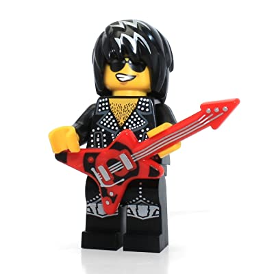 LEGO Mini-Figures - Rock Star - (Series 12) + Online Code: Toys & Games [5Bkhe0414561]